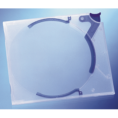DURABLE CD/DVD Box QUICKFLIP® STANDARD