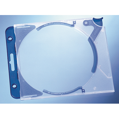 DURABLE CD/DVD Box QUICKFLIP® COMPLETE