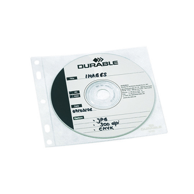 DURABLE CD/DVD Hülle COVER FILE