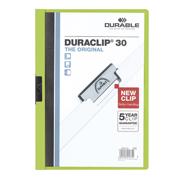 DURABLE Klemmmappe DURACLIP® 30