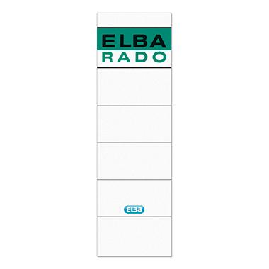 ELBA Ordnerrückenetikett breit/kurz grün