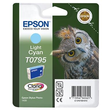 Epson Tintenpatrone  T0795 fotocyan
