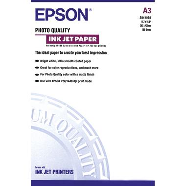 Epson Inkjetpapier Quality  DIN A3