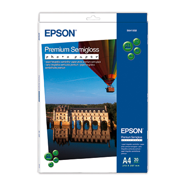 Epson Fotopapier Premium Semigloss 251 g/m² 20 Bl./Pack.
