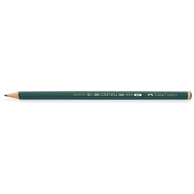 Faber-Castell Bleistift CASTELL® 9000  ohne Radierer