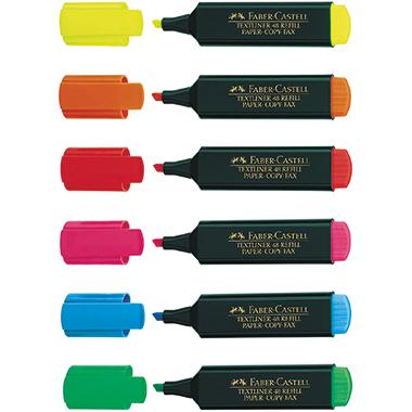 Faber-Castell Textmarker TEXTLINER 48 Refill