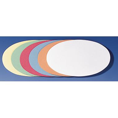 Franken Moderationskarte Oval selbstklebend