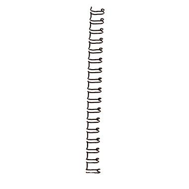 GBC® Drahtbinderücken WireBind 10 mm