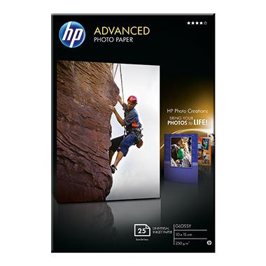 HP Fotopapier Advanced  10 x 15 cm (B x H)