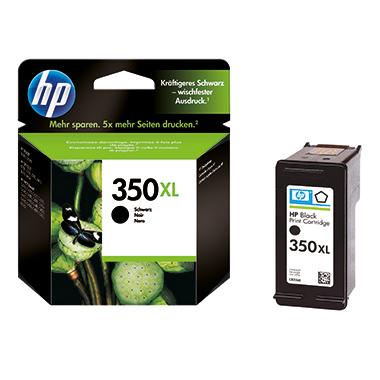 HP Tintenpatrone  350XL schwarz