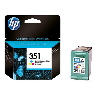 HP Tintenpatrone  351 mehrfarbig
