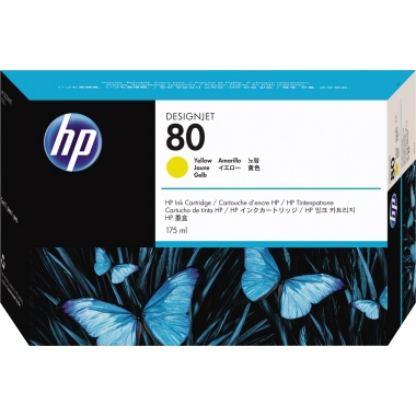 HP Tintenpatrone 80  175 ml