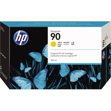HP Tintenpatrone 90  225 ml
