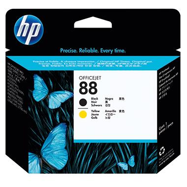 HP Druckkopf 88  schwarz/gelb