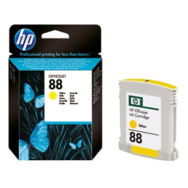 HP Tintenpatrone  88 gelb