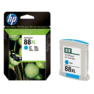HP Tintenpatrone  88XL cyan