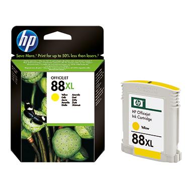 HP Tintenpatrone  88XL gelb