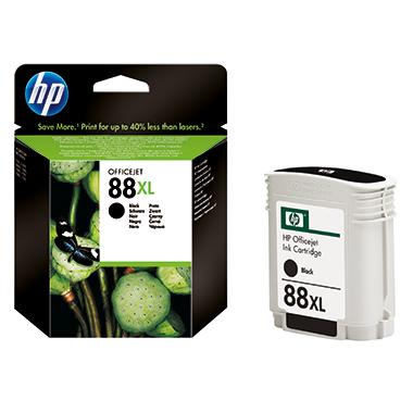 HP Tintenpatrone  88XL schwarz