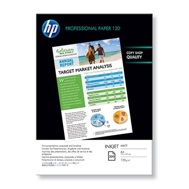 HP Inkjetpapier Professional  DIN A4 200 Bl./Pack.
