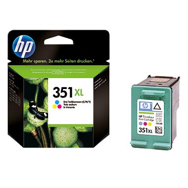 HP Tintenpatrone  351XL mehrfarbig
