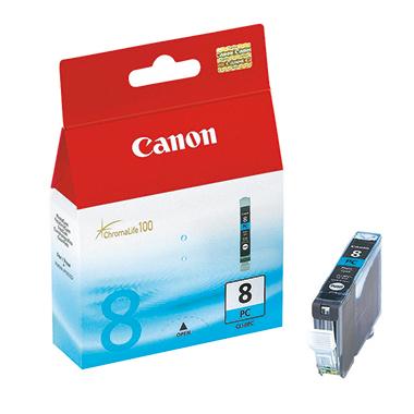 Canon Tintenpatrone  CLI8PC fotocyan