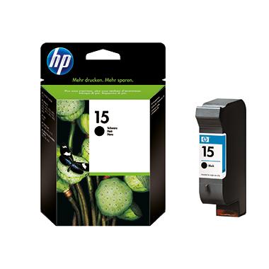HP Tintenpatrone 15 schwarz