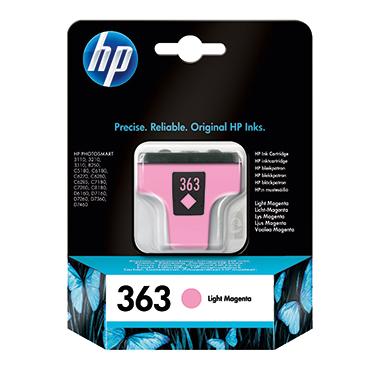 HP Tintenpatrone 363 fotomagenta