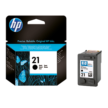 HP Tintenpatrone 21  ca. 190 Seiten