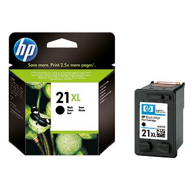 HP Tintenpatrone 21XL