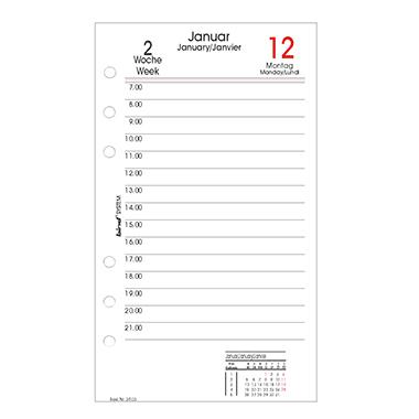bind® Einlage Kalender System  Tagesplan