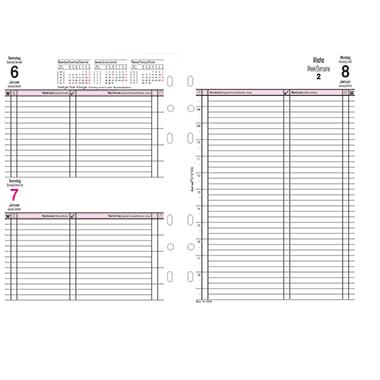 bind® Einlage Kalender Manager  Jahresset inkl. Tagesplan