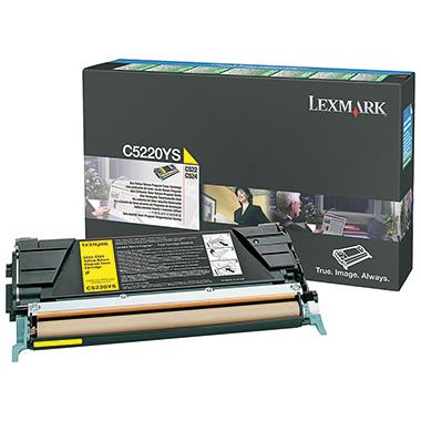 Lexmark Toner C5220YS