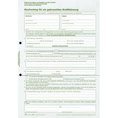 RNK Kfz-Kaufvertrag