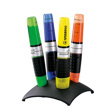 STABILO® Textmarker LUMINATOR®  4 St./Pack.