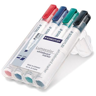 STAEDTLER® Whiteboardmarker Lumocolor® 351 B 4 St./Pack.