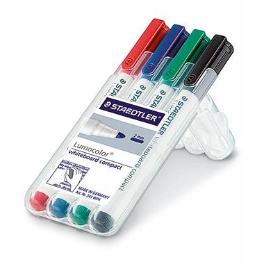 STAEDTLER® Whiteboardmarker Lumocolor® 341  4 St./Pack.