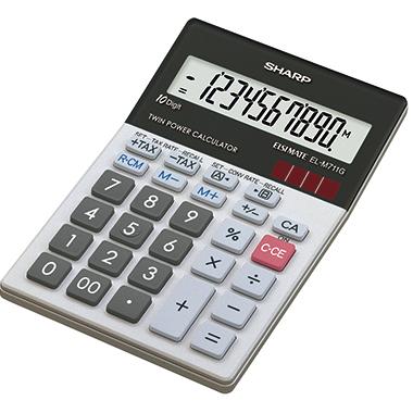 Sharp Tischrechner EL-M711GGY
