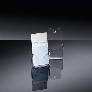 Sigel Prospekthalter acrylic  12,5 x 20 x 7,5 cm (B x H x T)