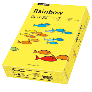 Rainbow Multifunktionspapier Color  DIN A4 160 g/m²
