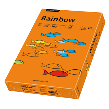 Rainbow Multifunktionspapier Color  DIN A3