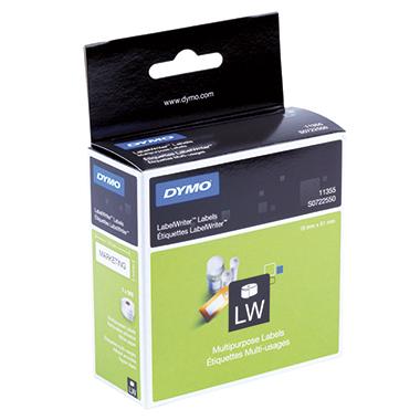 DYMO® Vielzwecketikett LW  51 x 19 mm (B x H)