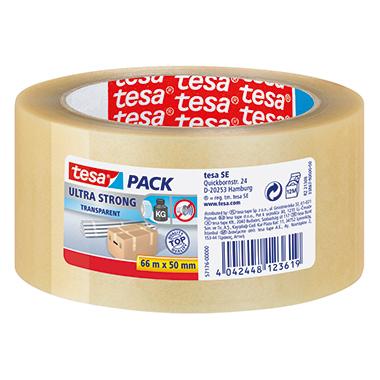 tesa® Packband tesapack® Ultra Strong  50 mm x 66 m (B x L)