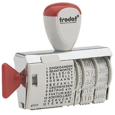 trodat® Wortbandstempel Classic 1117