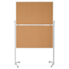 "magnetoplan® Moderationstafel Design ""evolution plus""  Kork A007564R"