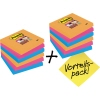 Post-it® Haftnotiz Super Sticky Notes Bangkok Collection Promotion  12 Block/Pack. A007959R