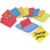 Post-it® Haftnotiz Super Sticky Z-Notes  2 x neongrün, 2 x neonorange, 2 x ultrablau, 2 x mohnrot A007999X