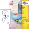Avery Zweckform CD/DVD Etikett  100 Bl./Pack. A009051Z