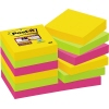 Post-it® Haftnotiz Super Sticky Rio de Janeiro Collection  48 x 48 mm (B x H) 12 Block/Pack. A009169H