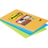 Post-it Haftnotiz Super Sticky Notes liniert 101 x 152 mm (B x H) 3 Block/Pack. A009326T
