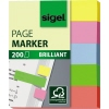 SIGEL Haftmarker Brillant 50 x 12 mm (B x H) A009895B